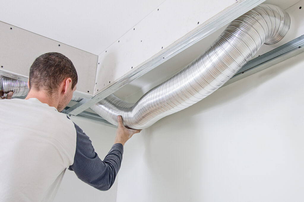 Central Air Conditioning System Installation